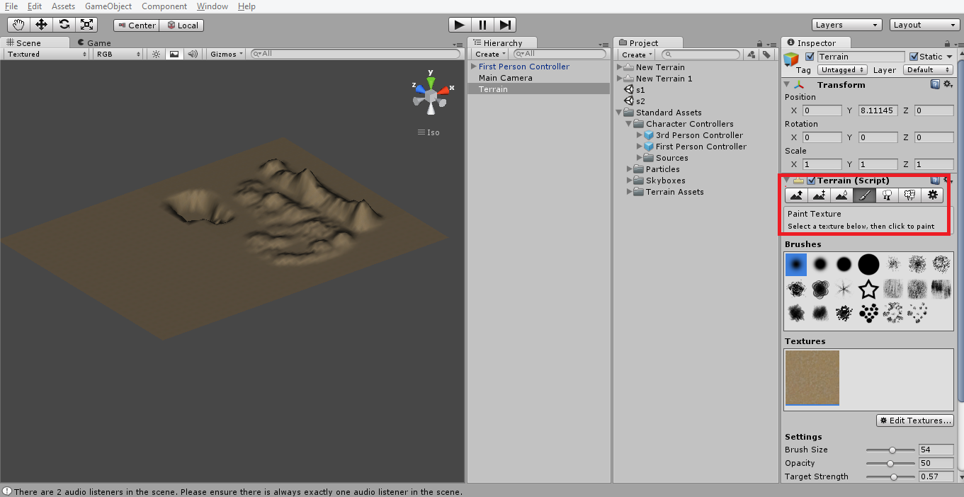Unity 3D 2nd Post  Adding grass, trees to terrain  | Explore  Learn