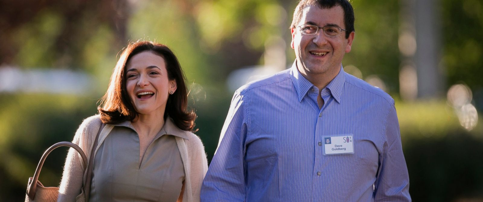 Sheryl K. Sandberg and husband David Goldberg before his death in a Mexican hotel where he was not staying - yet another mysterious death by a person associated with Bill and Hillary Clinton