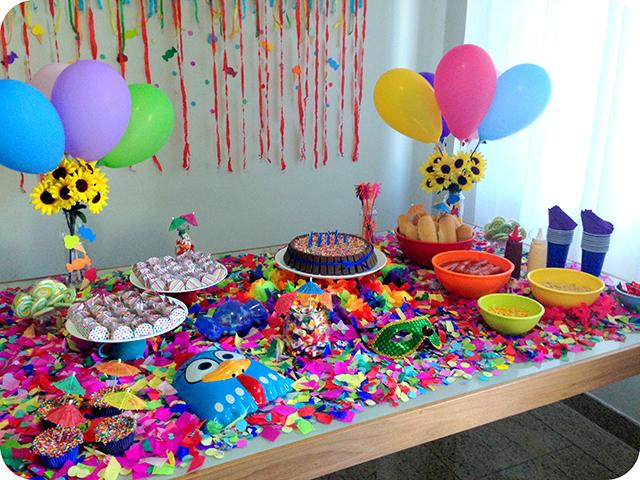 Decoração : Festa Carnaval - Mesa Carnavalesca