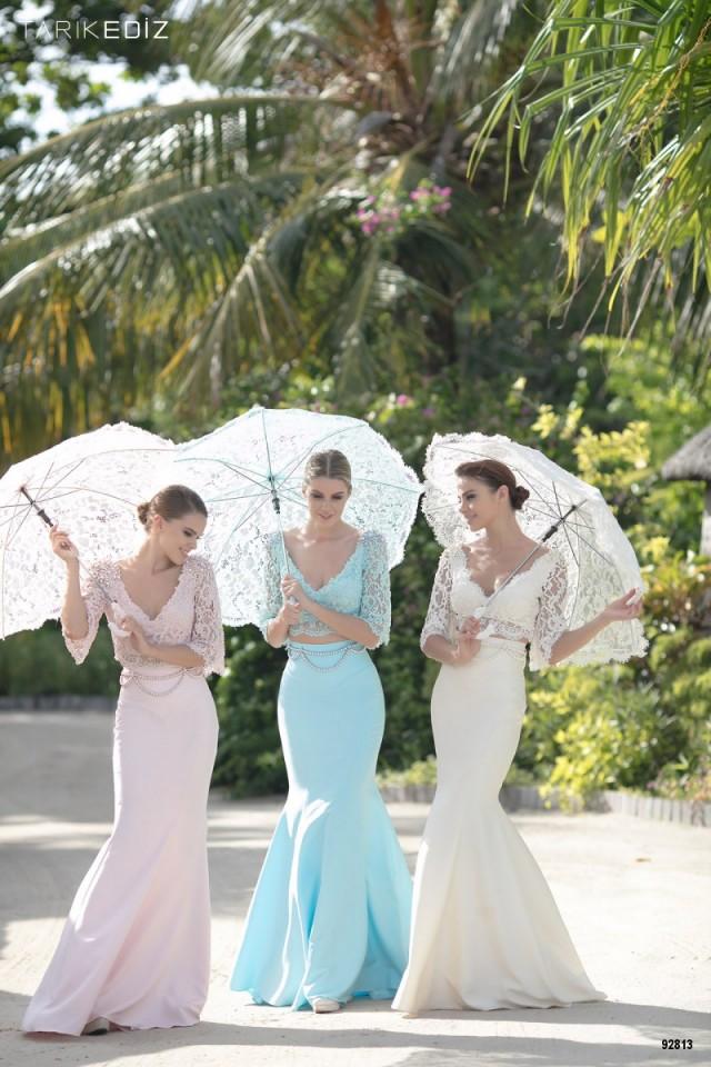 vestidos con encajes 2016