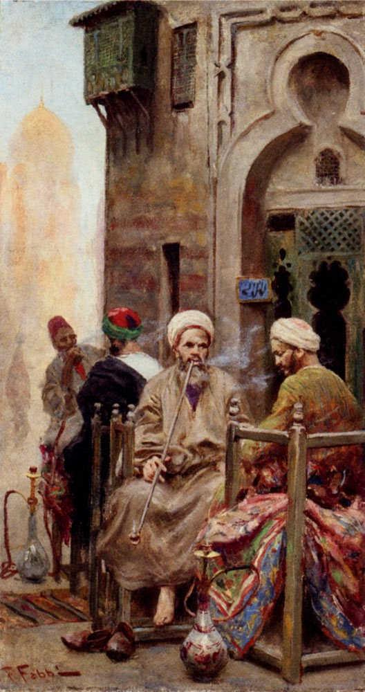 لوحات نادرة مصر بعيون Fabio Fabbi - مجموعة اولى