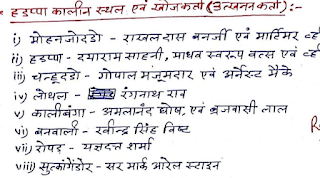 Download Ancient_History_of_India-प्राचीन_भारत(complete) Hand Written Notes in Hindi