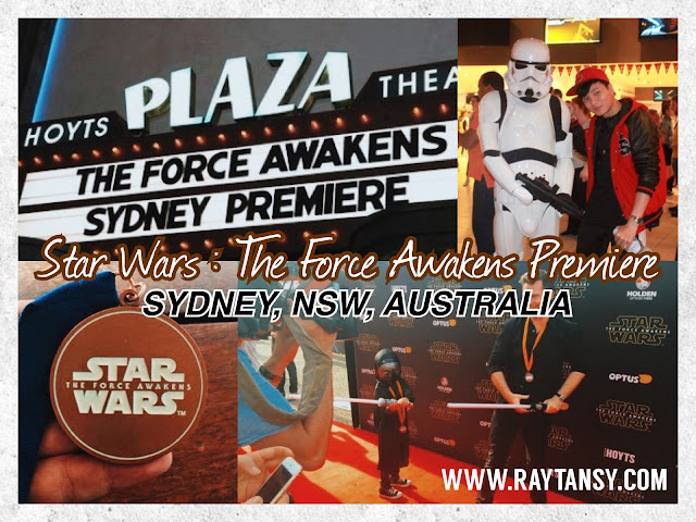 Star Wars : The Force Awakens (Movie) Premiere @ The Hoyts, Sydney, New South Wales, Australia