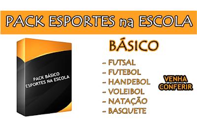 """Conheça o Pack Básico """"Esportes na Escola"""""""