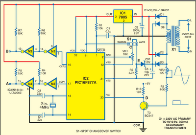 Smart Voltage Stabilizer Using Pic16f877a Embedded