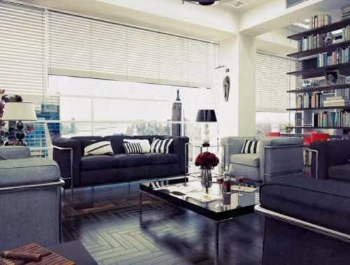 Chilled out Contemporary Living Rooms photo