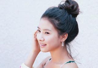 5.Gaya Rambut Korean Bun