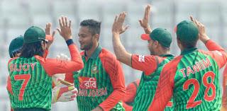 Bangladesh team's goal in tri-series.