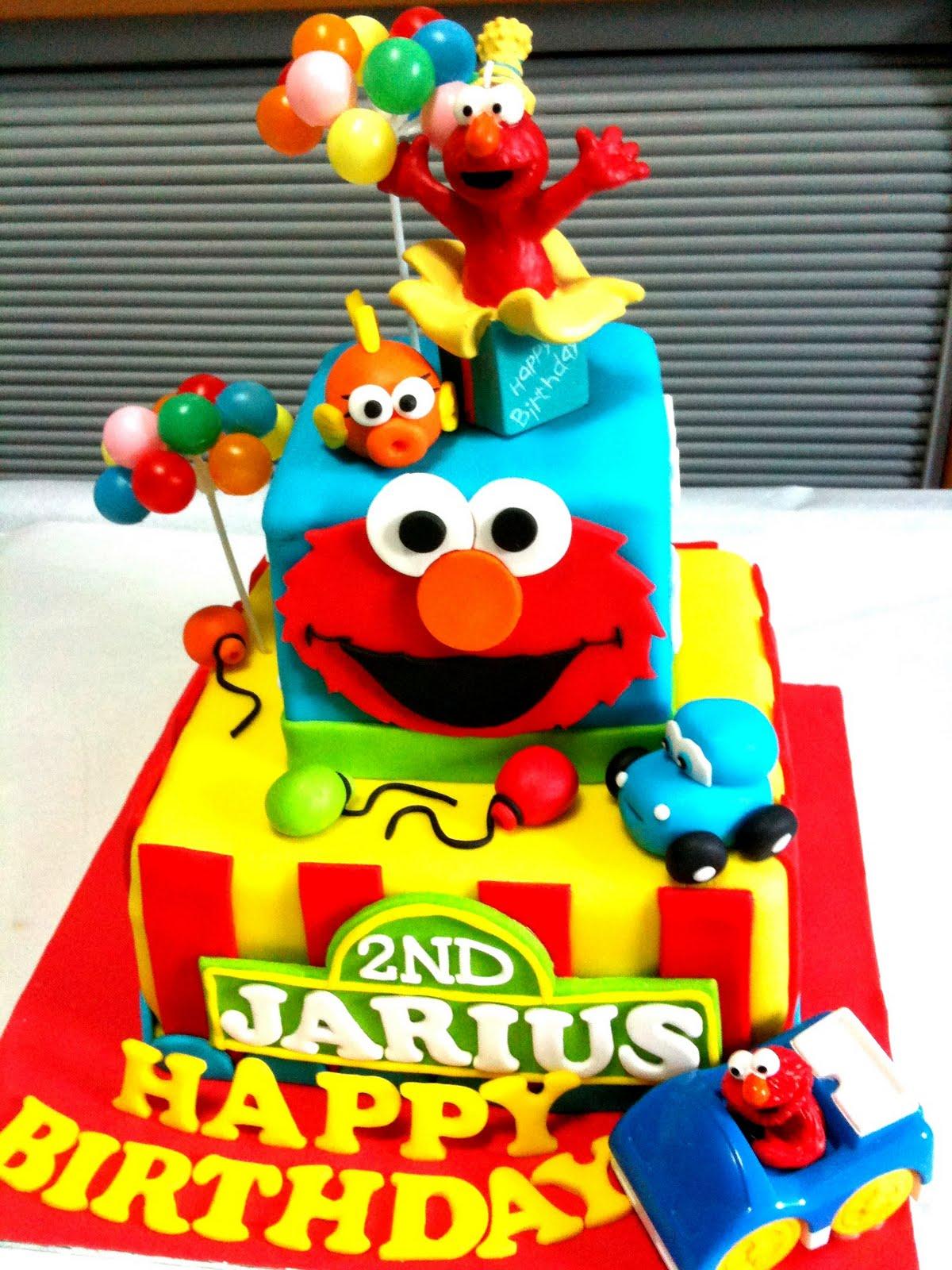 Oven Creations Happy 2nd Birthday Jarius