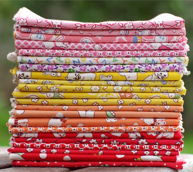 Favorite Storybook Playtime Fat Quarter Bundle for Windham Fabrics