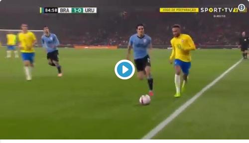 Vidéo - L'accrochage entre Neymar et Cavani qui fait jaser