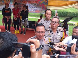 Irjen Pol Drs Muchlis AS, MH Buka Pers Gathering
