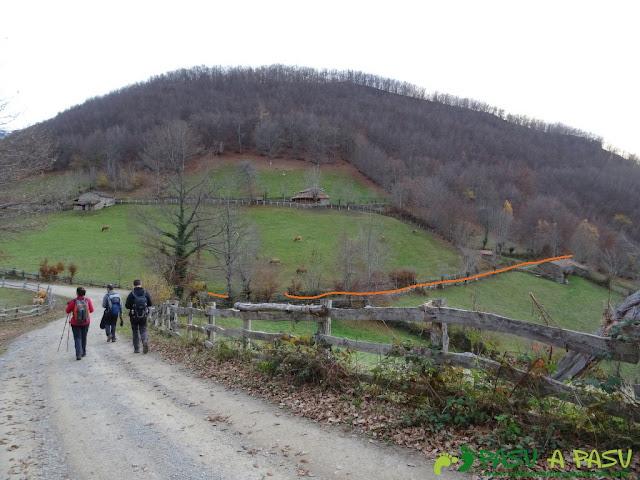 Alto Vallina sobre Felechosa