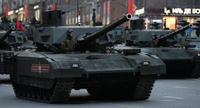 T-14 Armata Tank Rusia