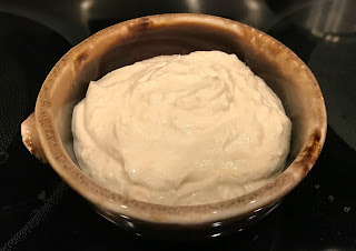 Feta-Yogurt Sauce for Lentil Tacos