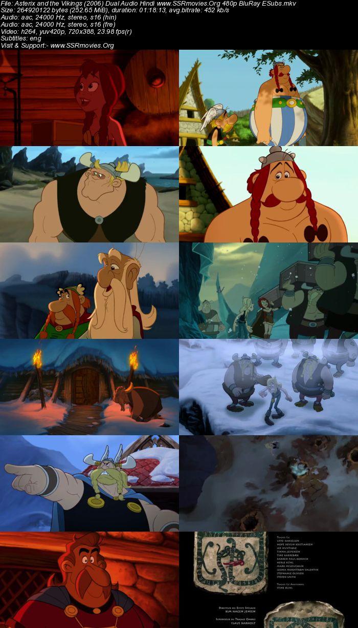 Asterix and the Vikings (2006) Dual Audio Hindi 480p BluRay