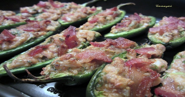Thai Chicken-Stuffed Peppers Recipe