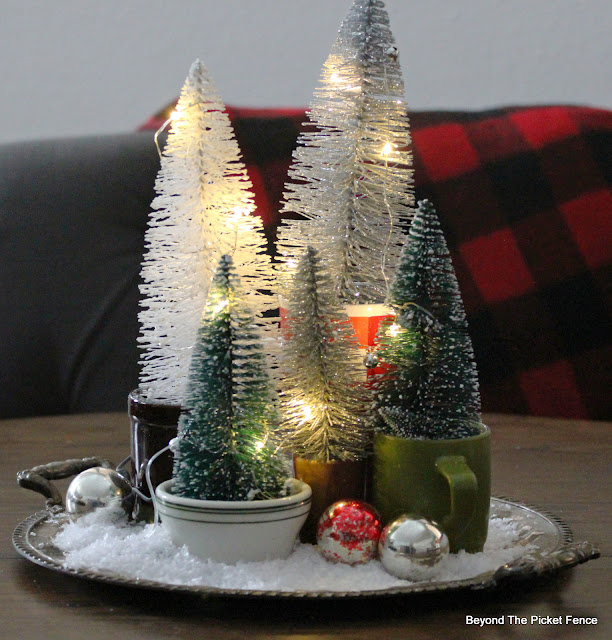 Make a Simple Centerpiece with Thrift Store Finds
