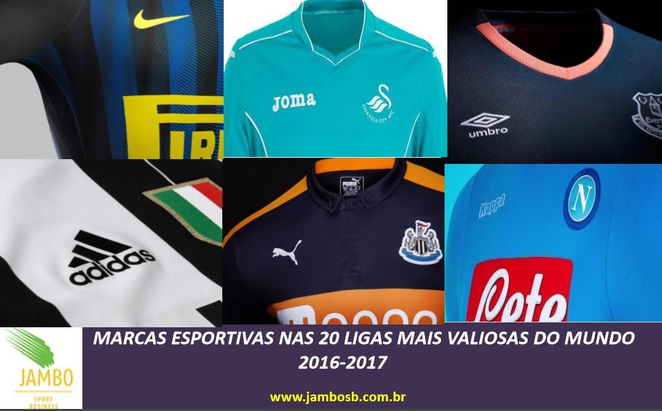 cd28422756 As marcas esportivas no futebol 2016-2017