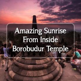 Amazing Borobudur Sunrise