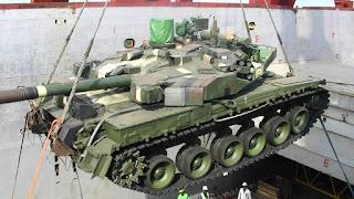 MBT Oplot Angkatan Darat Thailand