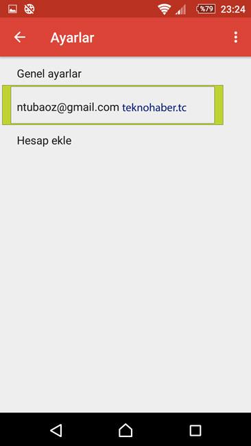 gmail-senkronizasyon ayalarları