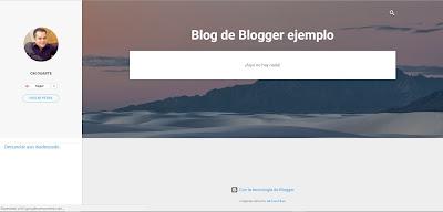 Blog de blogger ejemplo