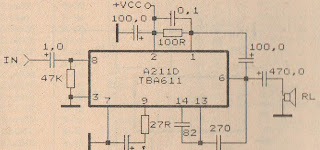 tba611 amplifier schematic power amplifier rh ampcircuitdiagram xyz Tube Amplifier Schematic Diagrams Amplifier Schematic Diagram