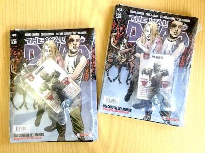 The Walking Dead #43: Dai confini del mondo (variant cover per Lucca con allegate card e miniatura)