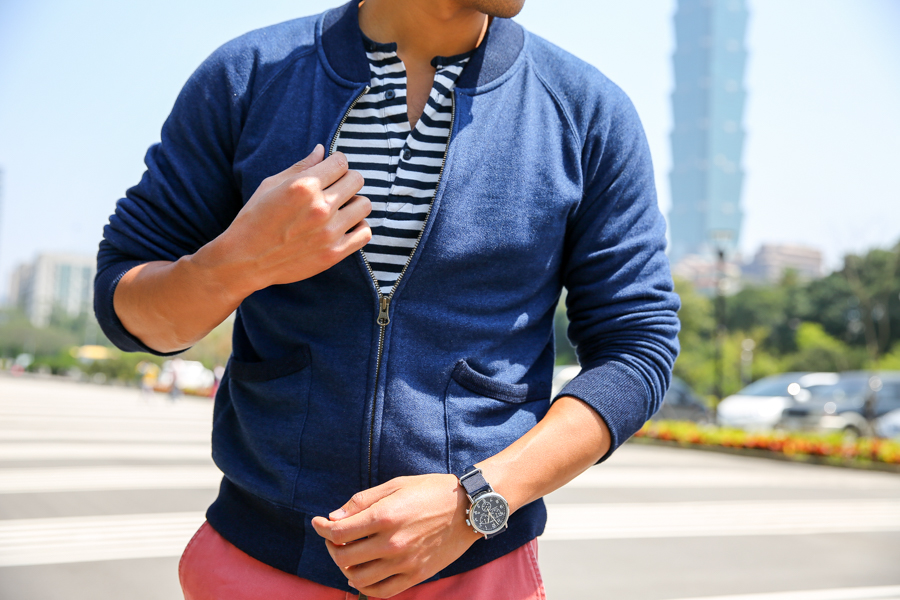 Leo Chan, Levitate Style, menswear, Taiwan, nautical henley