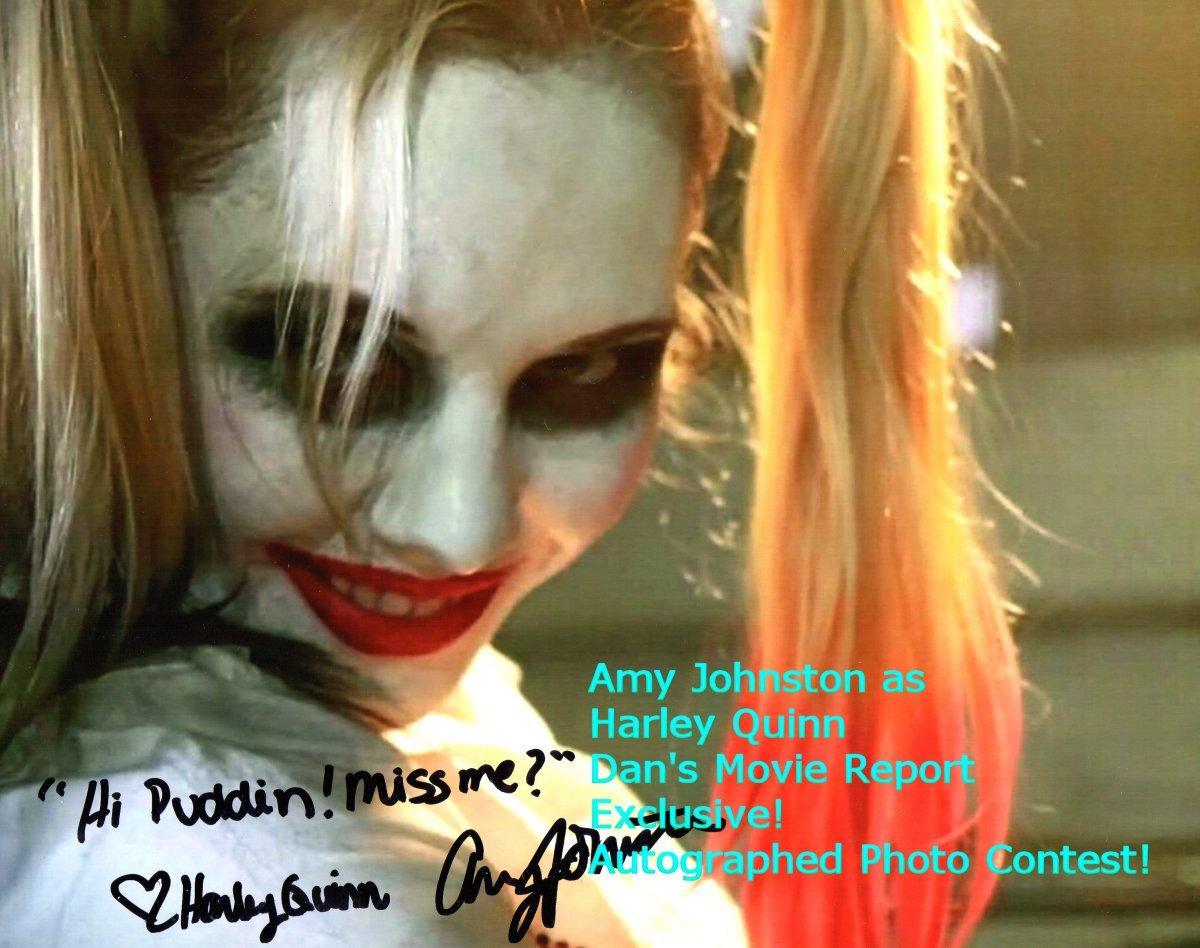 Amy Johnston dan's movie report: amy johnston suicide squad contest! plus