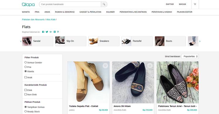 Flat Shoes Qlapa