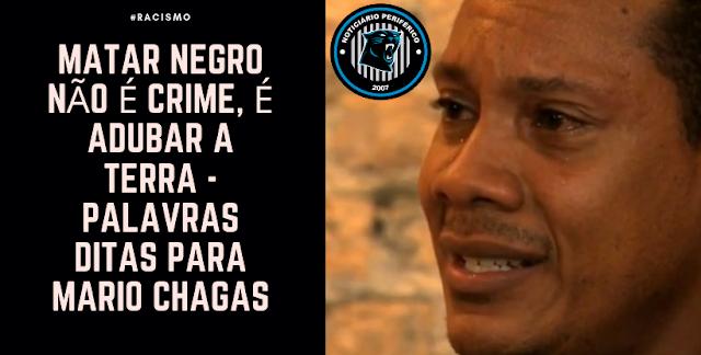 Ex-arbitro Mario Chagas diz que o rap ajudou em sua negritude durante seu relato sobre racismo ao site UOL
