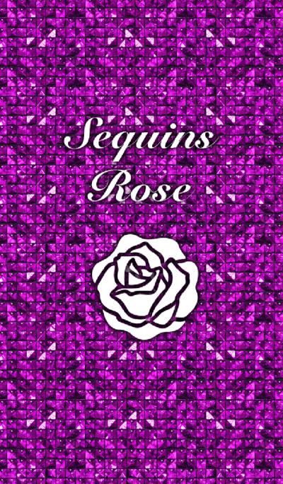 Sequins Rose-Purple
