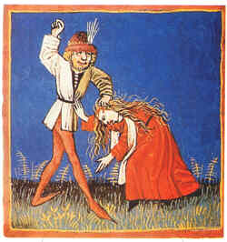 Resultat d'imatges de misoginia medieval