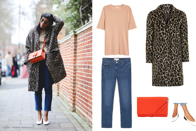 LFW street style look recreated with high street items and budget buys.