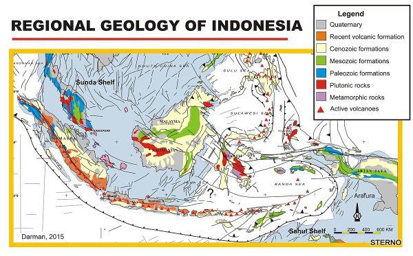 Letak strategis dan geologis negara Indonesia