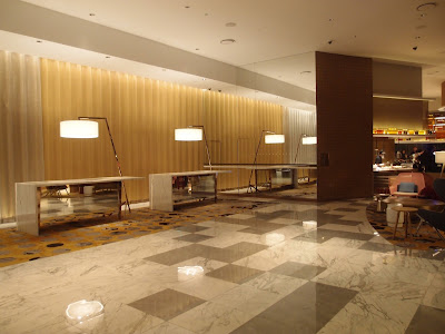 Grand Copthorne Waterfront hotel lobby