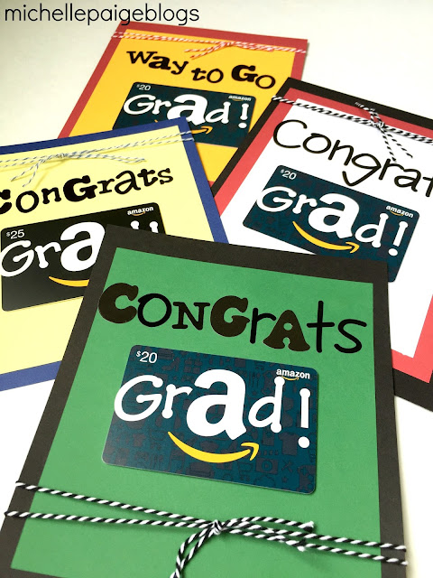 Amazon Gift Cards for Grads
