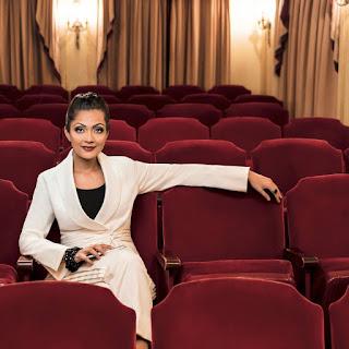 Sheena Chohan Watching Movies