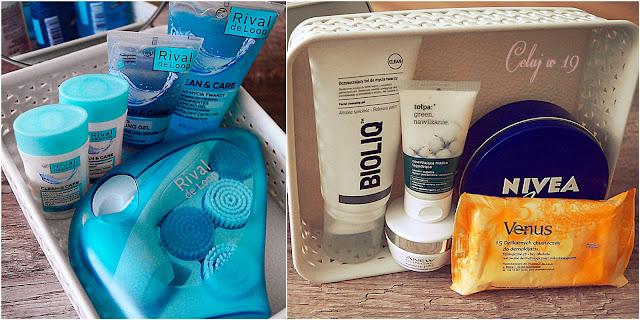 Kosmetyki z Rival de Loop, Bioliq, Tołpa, Avon, Nivea, Venus