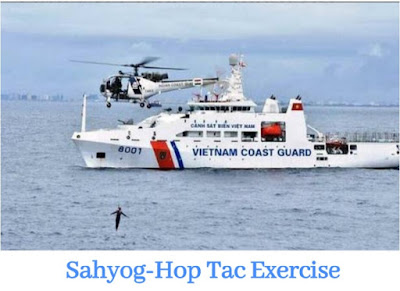 Sahyog-Hop Tac 2018 : India and Vietnam