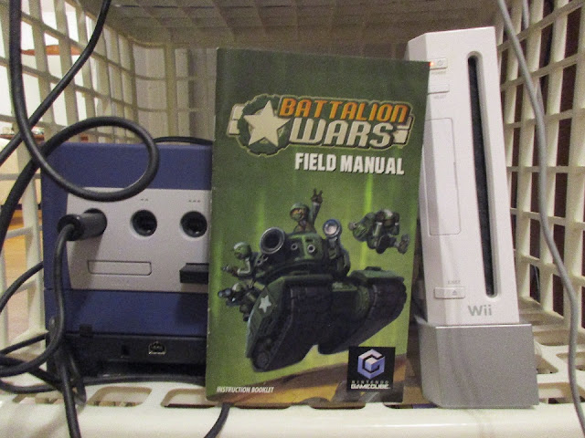 Battalion Wars Field Manual instruction booklet Nintendo GameCube