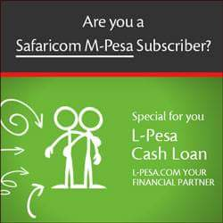 Repaying L-Pesa loan via Paybill number in Kenya