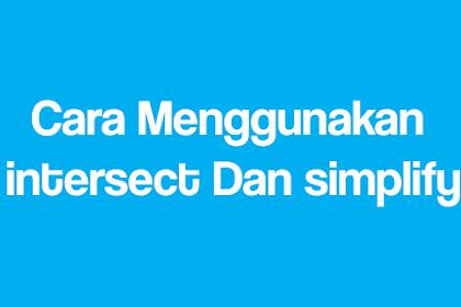 Cara Menggunakan intersect Dan simplify | Lengkap dengan gambar- Belajar corel Draw step 5