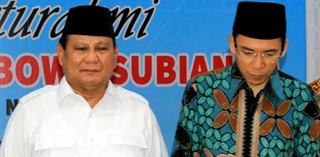 'Hajar' Prabowo, TGB Bikin Geram Umat