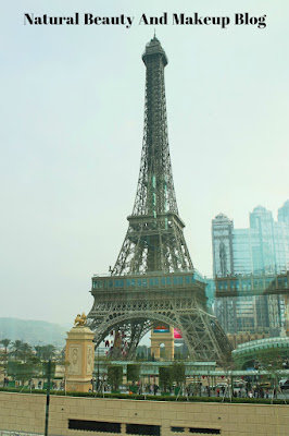 Destination - MACAU, Day 2, Eiffel Tower,The Parisian Macao Resort Hotel, Cotai Strip on Natural Beauty And Makeup Blog