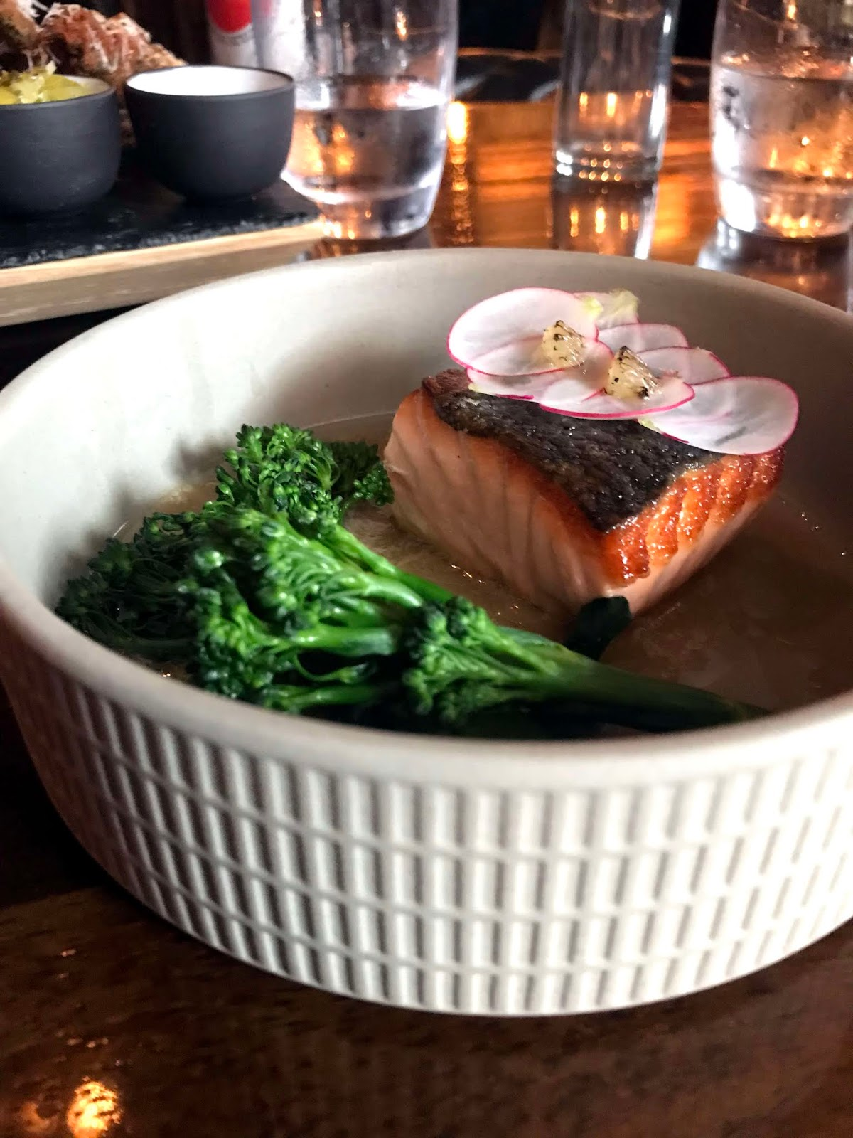 Stitch & Bear - Bento at Bonsai Bar - Roast salmon