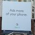 Convite do Google Billboard para que o evento Pixel 2 ocorra 4 de outubro