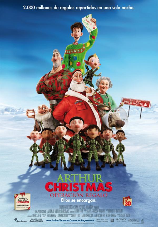 Poster de Arthur Christmas: Operación regalo 3D